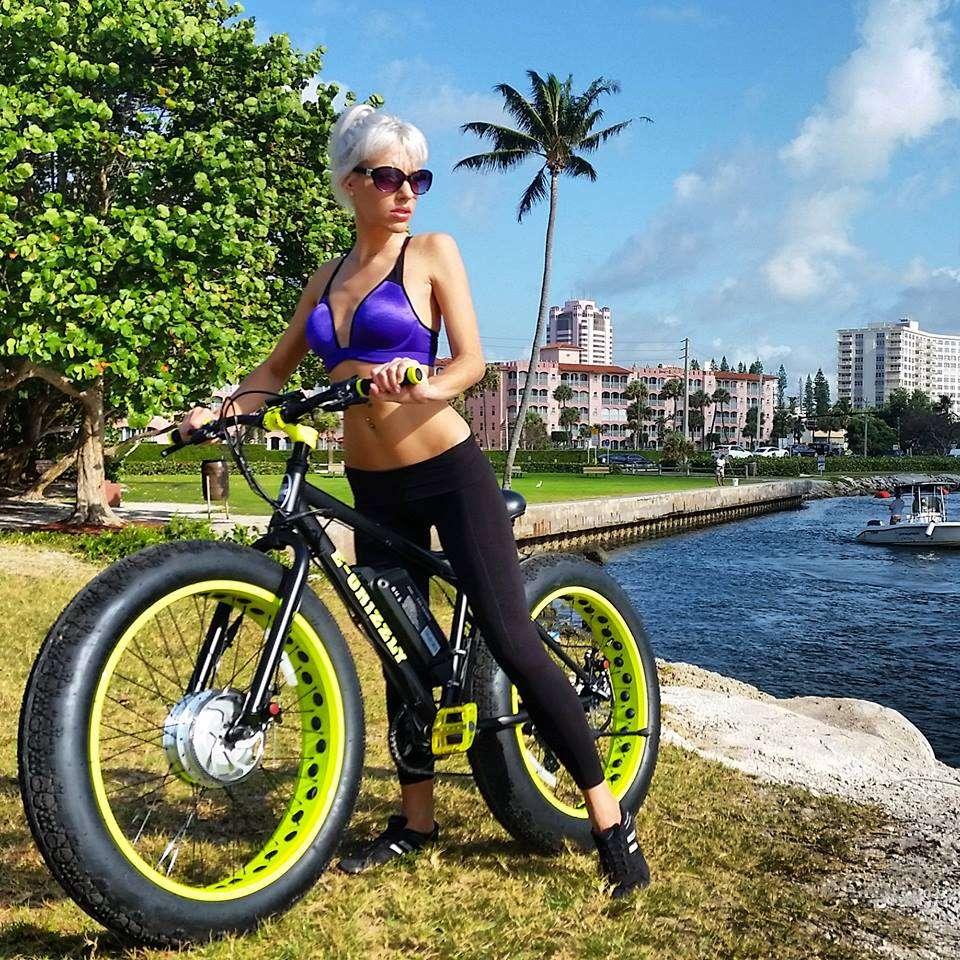 00510614912 1250 Watt E-Grizzly Front Wheel Drive Fat Tire E-Bike