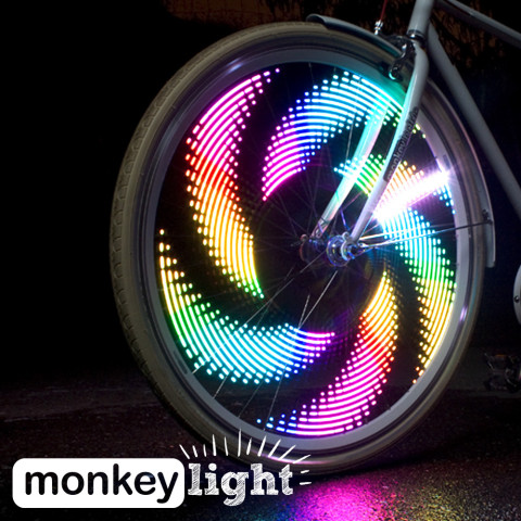 Burning Man LED Spoke Lights